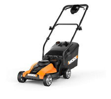 "WORX WG775 14"" Cordless Electric-Powered Lawn Mower 3-in-1- New"