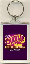 Charlie And The Chocolate Factory. The Musical. Keyring / Bag Tag.