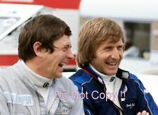 Derek Bell & David Purley F1 Portrait 1974 Photograph