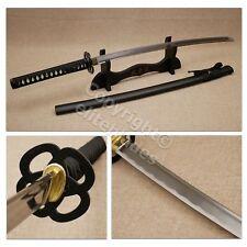 Musashi Daburu Hand Forged Functional Katana Sword Sharp Blade With Stand & Bag