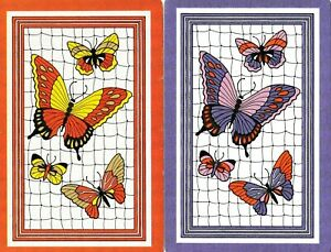 Swap Playing Cards x 1 pair  Butterflies