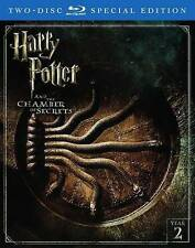 Harry Potter and the Chamber of Secrets (Blu-ray Disc, 2016, 2-Disc Set)