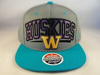 NCAA Washington Huskies Zephyr Snapback Hat Cap South Beach