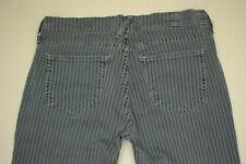 TExtile Elizabeth And James Iggy Skinny Jeans Women's Size 27 Gray Striped Denim