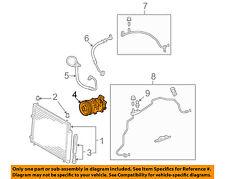 TOYOTA OEM 09-10 Corolla-A/C AC Compressor 8831002510