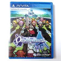 Mystery Chronicle One Way Heroics (Sony PlayStation Vita) #21 Limited Run SEALED