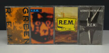 Lot 4 Alt / Indie Rock Cassette Tapes• R.E.M.-Green-Automatic People-Out of Time