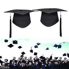 Mortar Board Unisex Adults Graduation Hat Dress Classical Student Graduation Cap