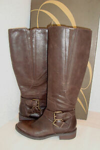 Enzo Angiolini NWB Womens Dark Brown Sporty Boots Shoes 5.5 MED NEW