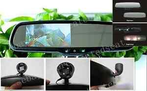"""Auto dimming mirror+4.3"""" LCD display,fits VW Golf,Jetta,Bora,Audi,Tiguan,Passat"""