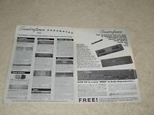 Soundcraftsmen 2 Pg Adaptador, 1988 , Total Line, Info , Eq , Amperios