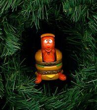 Changeable Dinosauer McDonalds  custom themed Christmas tree ornament 1990 vtg