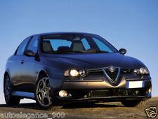Fanali Fari anteriori Alfa Romeo 156 97-03 NERI GT