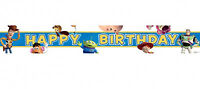 TOY STORY Party Banners Happy Birthday Decorations Buzz & Woody Party  FREE P&P