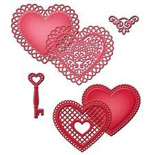 Spellbinders Shapeabilities Die ~ LACE HEARTS ~ S5-204