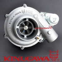 "Kinugawa 4"" Turbocharger GT3582 with A/R 1.17 Twin Entry Divided T4 Housing 600P"