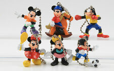 Micky Maus + Donald Duck === 6 x Walt Disney Zipper Minis Bully / Bullyland