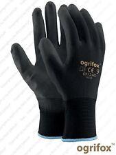 Arbeitshandschuhe  3 paar  Ogrifox Poliur -Montage Handschuhe Gr. 7  NEU