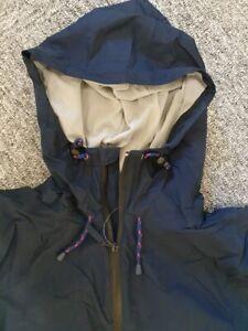 NEW men's casual weekend shower jacket  -  size XL