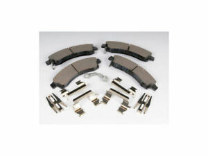 Front AC Delco Brake Pad Set fits Chevy Trailblazer EXT 2003-2005 45XXZW