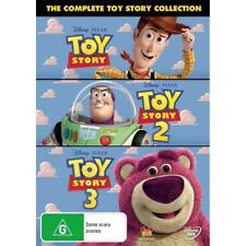 Toy Story / Toy Story 2 / Toy Story 3 (DVD, 2010, 3-Disc Set) R4 New