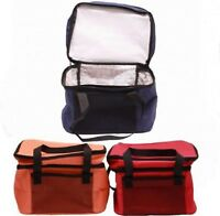 14L Cool Bag TWIN Compartment Insulated Lunch School Picnic Cooler Drink Box