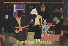 """ROMARE BEARDEN Evening of the Gray Cat 24.25"""" x 36"""" Offset Lithograph 1987"""