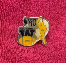 Winnipeg Blue Bombers 1990 Grey Cup Lapel Pin