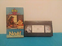 Bibi et genevieve Noel VHS tape & sleeve FRENCH kid's show classic