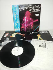 LP SHAUN CASSIDY THAT'S ROCK 'N' ROLL LIVE - P-10615W JAPAN PROMO