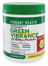 Vibrant Health - Green Vibrance Version 16.0 Daily Superfood - 25.04 oz.