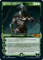 Garruk, Unleashed - Foil - Showcase x1 Magic the Gathering 1x Magic 2021 mtg car