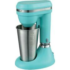 Milkshake Maker Drink Mixer Protein Drink Smoothie Cream Malt Blenders Turquoise
