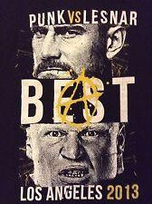 WWE CM Punk Brock Lesnar T-Shirt XL Best Vs. The Beast SummerSlam 2013 UFC