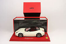 BBR Ferrari California T Closed Roof Fuij White w/case 1:18 P1880FJWV *New!
