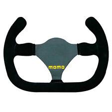 Momo Modelo 27 C único seater/formula/race Volante-Gamuza Negra