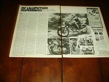 1974 HONDA 350 FOUR   ***ORIGINAL VINTAGE ARTICLE***