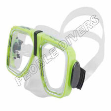 Scuba Max Navigator Mask scuba snorkel New 2 lens Silicone mask mid size skirt