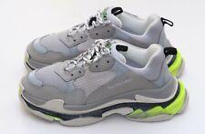 Balenciaga Triple S Grey Yellow White Blue Runners Sneakers Sz 44/ 11