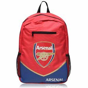 Arsenal F.C. Football Soccer Team Backpack bag Red - Sport School Travel Bag