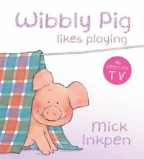 WIBBLY PIG LIKES PLAYING - NEW HARDCOVER BOOK