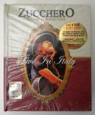 ZUCCHERO SUGAR FORNACIARI LIVE IN ITALY 2 CD + 2 DVD NUOVO
