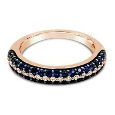 Le Vian 14K Rose Gold Blueberry Sapphire & Vanilla Diamond Domed Fashion Band