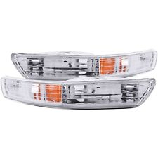 Sold in Pairs Anzo USA 121003 Acura Integra Projector with Halo Black Headlight Assembly