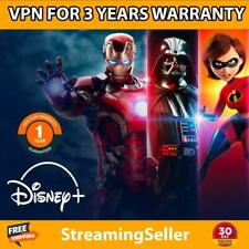 D!sney Plus Account 2 years Access Warranty Auto Renew, Instant Delivery(30s!)