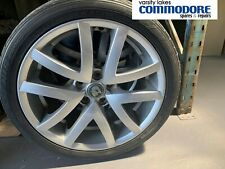 "Genuine Holden HSV VE Clubsport E1 19"" Mag Alloy Wheels Silver 10 Spoke"