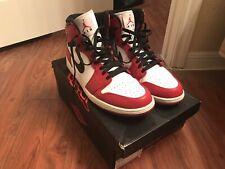 "48b0a2805653 Nike Air Jordan 1 Retro High OG ""CHICAGO"" RED 2013 Mens Size 13US 332550"