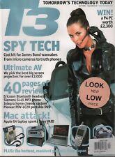 T3 UK Technology Magazine April 2001 Mac Apple G4 Ericsson Bluetooth 112219AME