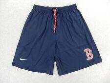 Boston Red Sox Nike Dri Fit Baseball Practice Shorts (Mens Xl) Blue