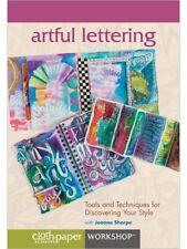 Artful Lettering Joanne Sharpe 12 Fresh Writing, Design & Drawing Techniques DVD